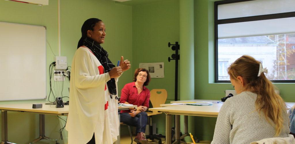 Hindatou Amadou, intervenante invitée en 2018