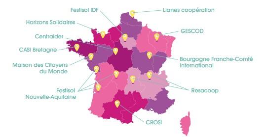Coordinations Festival des Solidarités en France