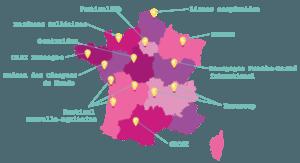 Les coordinations du Festival des Solidarités en France