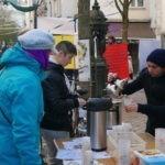 Dégustation de thé au Festisol à Orléans